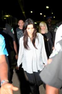 Kim Kardashian arrives Lagos Nigeria for Darey's LLAM concert (5)