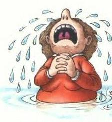 Image result for cartoon images of crying nysc