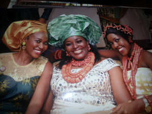 this smile runs in the family. Her mom's smile is bedazzling walahi