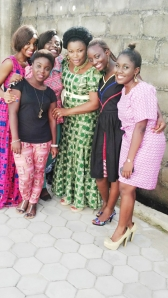 Dee, Bella, Ify, Chi, Ewa and Glow