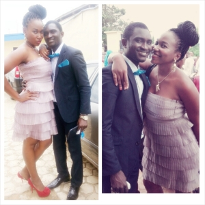 Gbenga's wedding