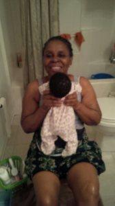 Grandmother joy