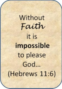 Without Faith - Heb 11 6