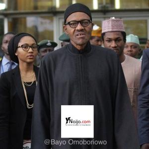 The Buhari's... Zahra, Yusuf and Baba