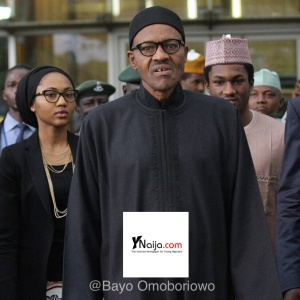 The Buhari's... Zahra, Yusuf and Baba