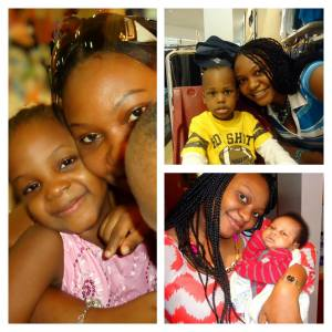 Olaedo and her gorgeous fam