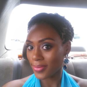 Look at tha' bride glow