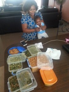 Ify helped me with my cooking on October 2. This food has not finished yet