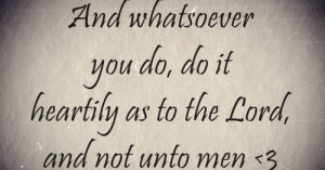Col 3:23