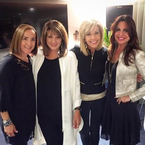 Chris, her Pastor Bobbi, her best friend Beth and Lisa
